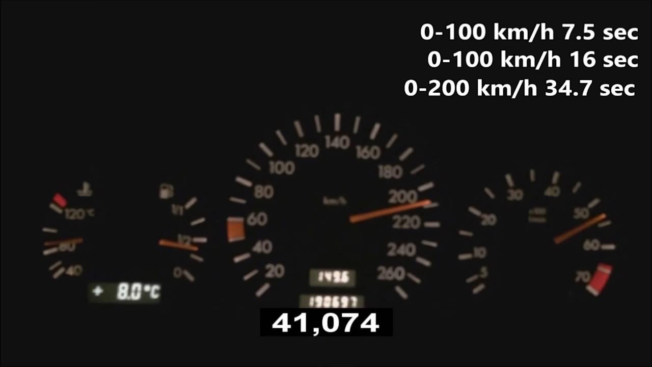 1994 mercedes benz c280 w202 0 230 km h acceleration 193 hp youtube rh youtube com 1994 Mercedes C220 Used Mercedes-Benz C280