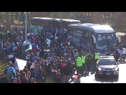 Argentina Returns Home After Winning Copa America