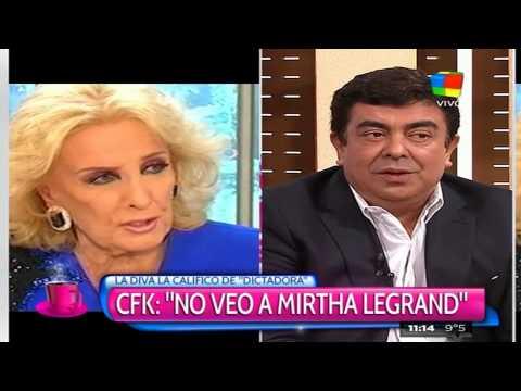 Cristina le respondió a Mirtha Legrand