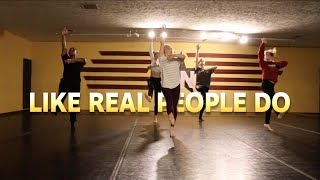 HOZIER - LIKE REAL PEOPLE DO | #theINstituteofDancers | Contemporary Dance by Stacey Del Valle