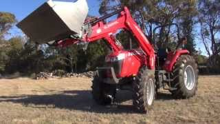 Massey Ferguson MF4600 Series Utility Tractor - Banana Plantation