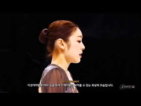 Yuna Kim - Les Miserables @ 2013 Worlds (Mixed Commentary)