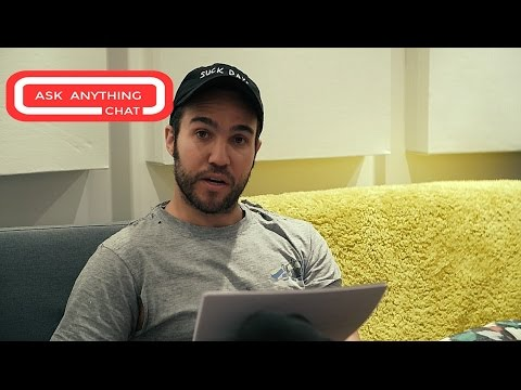 Pete Wentz Of Fall Out Boy Talks Darth Vader, Chicago Cubs & ThunderCats.  Watch Part 1