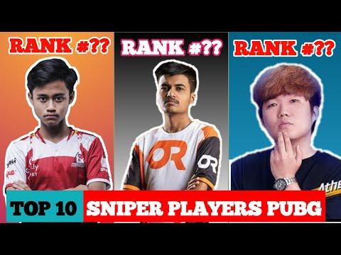 Best Pubg Sniper in the world | Top 10 Sniper Player In Pubg Mobile