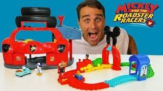 Mickey's Mouska Train Express Playset !    Toy Review    Konas2002