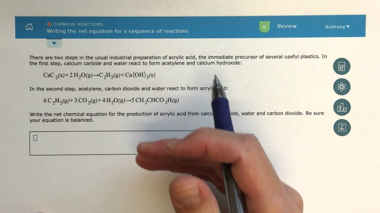 how to write a formation reaction video