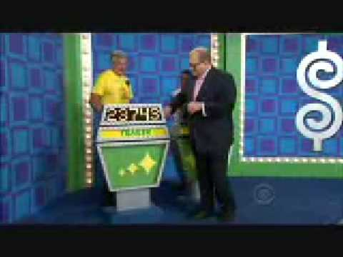 The Price is Right Exact Showcase Bid