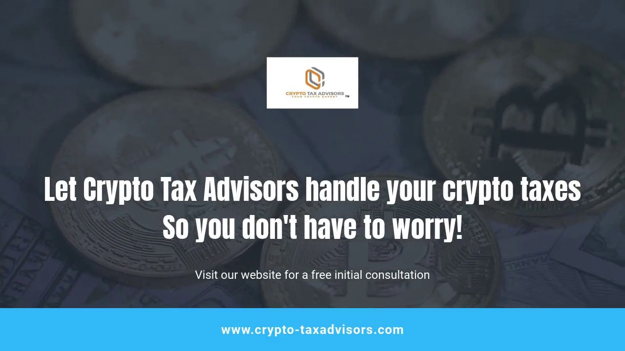tax adviser cryptocurrency