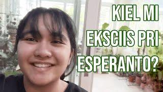 kiel mi eksciis pri Esperanto?
