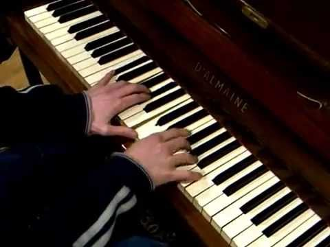 Improvising In C Minor C5 Ab5 F5 G5 Chord Sequence On Piano