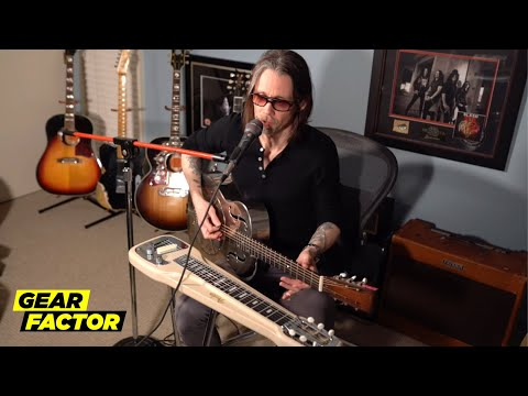 Myles Kennedy Plays His Favorite Riffs on 4 Different Instruments