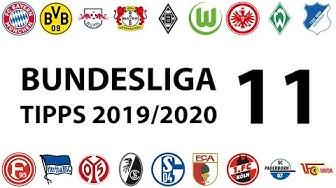 Bundesligatipps 11.Spieltag 2019/2020