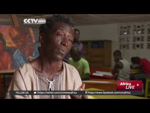 Liberian artist gives children chance to explore their creative potential