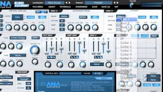 Sonic Academy ANA - Oscillator Features