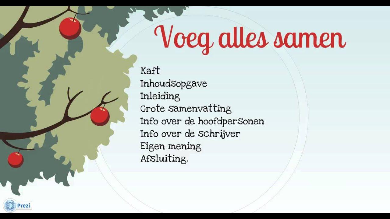 Hedendaags Boekverslag - YouTube GX-37
