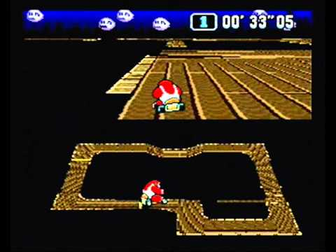 Super Mario Kart (NTSC) Time Trial : Ghost Valley 1 (GV1) - 59