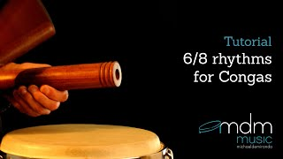 6/8 rhythms for congas.mov
