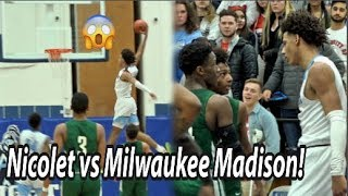 ROAD TO STATE: Nicolet and Milwaukee Madison GO AT IT in Regional Final!!