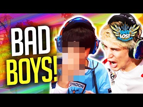 Overwatch Naughty Pros! Profit Vs XQC - Fines, Suspensions and BANS!