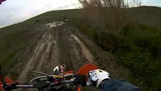 valle di erice enduro motocavalcata  salemi riki nel fango
