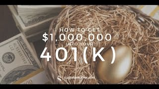 How to Get $1 Million in your 401k & Become a Millionaire Investor