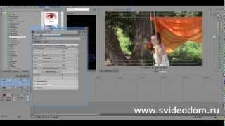 видео уроки sony vegas / выделение цвета с помощью color corrector (secondary)