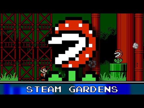 Steam Gardens 8 Bit Remix - Super Mario Odyssey