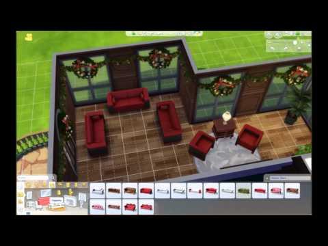 hausbau video weihnachten 2014 die sims 4 youtube. Black Bedroom Furniture Sets. Home Design Ideas