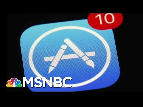 Supreme Court Case Claims Apple's App Store Holds Illegal Monopoly | Andrea Mitchell | MSNBC Mp3