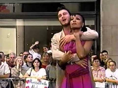 Simone & Matt Bogart - Written In The Stars - AIDA (The Today Show 07-28-01)