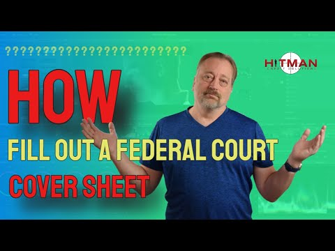 How to Fill Out the Cover Sheet for a Federal Lawsuit - CreditRage Uncut 13