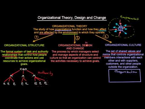 What Is Organizational Theory | Introduction To Organisations | MeanThat