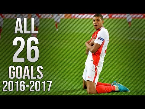 Kylian Mbappe - All 26 Goals 2016/2017 HD