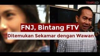 FNJ, Bintang FTV yang Ditemukan Sekamar dengan Wawan