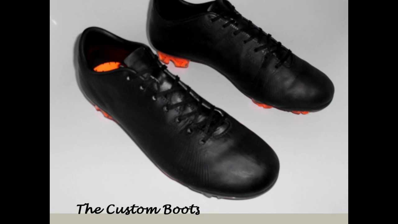 Nike Mercurial Vapor Superfly Blackout Prototype Customized Football Boots  - YouTube