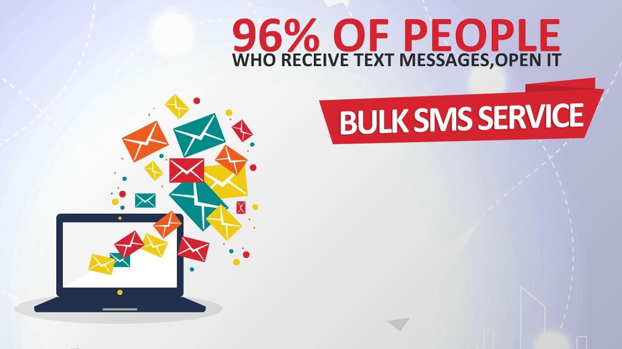 Bulk SMS Marketing Service- Text Messaging   Animation Brochure (VG-911)