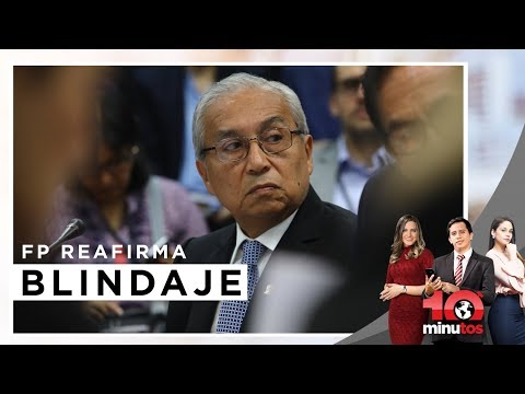 Fujimoristas reafirman blindaje a Chávarry  - 10 minutos Edición Tarde
