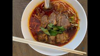 Halal Vietnamese Spicy Beef Noodle soup &quotBun Bo Hue&quot