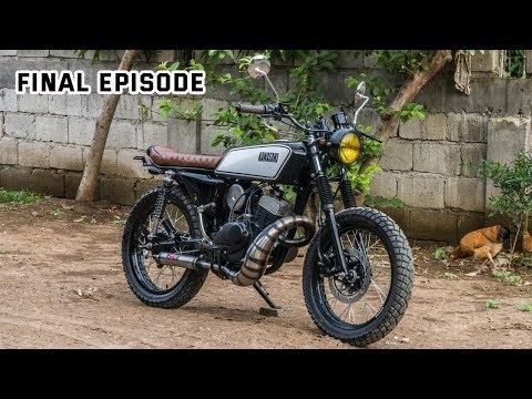 Kawasaki HD3 2stroke Scrambler Build Part 10