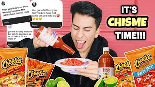 BOMB AF HOT CHEETOS MUKBANG | Louie's Life