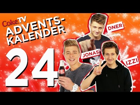 CokeTV Adventskalender: Türchen 24 mit Dner, izzi und Jonas | #CokeTVMoment