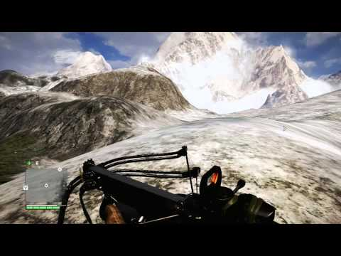 Far Cry 4 - Reaching snowy mountains + MOST AMAZING WINGSUIT FLIGHT EVER