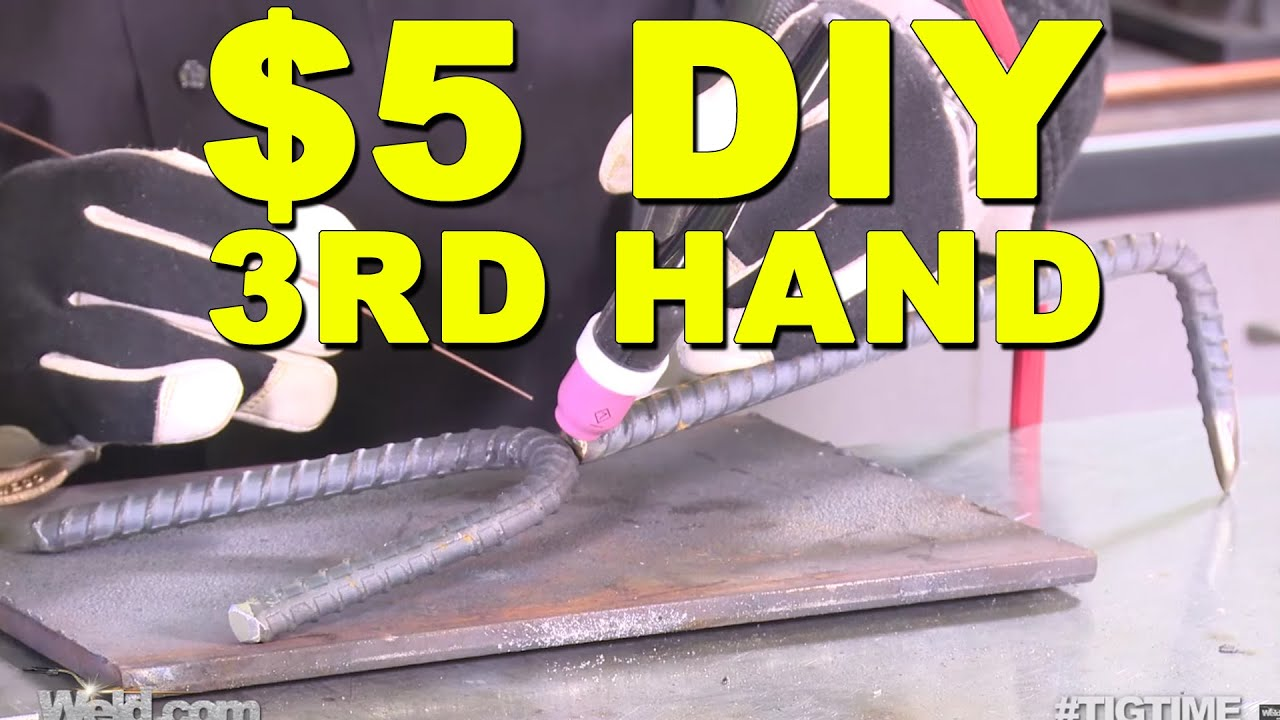 Diy Welders Third Hand Tool How To Build Tig Time Youtube