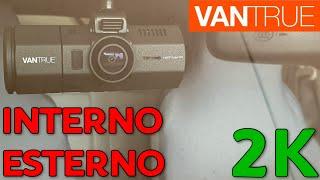 DASHCAM VANTRUE N2 PRO - Unboxing, prova, confronto, recensione