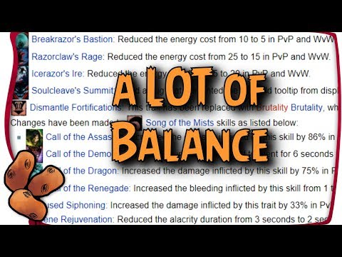 Guild Wars 2 - Balance With Boots | The Big Mesmer Changes, & Lots More!