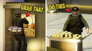 7 ESSENTIAL Things to do in Casino Heist To Make It SUPER EASY in GTA 5 Online!