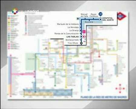Nuevo Plano De Metro Madrid 2007