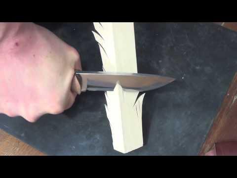 Scandi vs. Convex in wood cutting