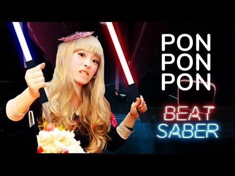 PONPONPON - Kyary Pamyu Pamyu (Expert) Beat Saber Custom