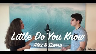 little do you know alex sierra cover aarik ibanez sasha kewene hite